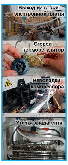 Ремонт холодильника stinol своими руками 52