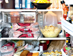 горячее в холодильнике